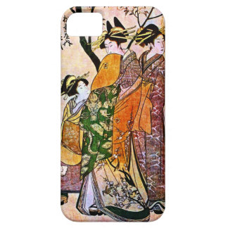 Vintage Geisha Image Barely There IPhone 5 case