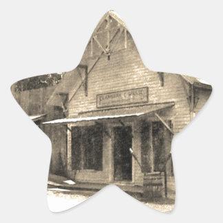 Vintage General Store Star Sticker