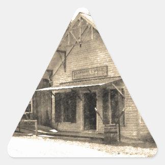 Vintage General Store Triangle Sticker