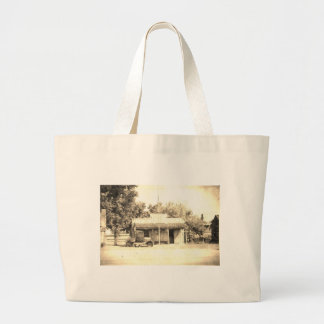 Vintage General Store with Antique Auto Tote Bags