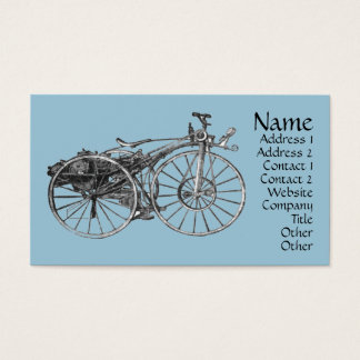 Vintage Generic Create Your Own Business Card