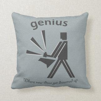 Vintage Genius Pillow