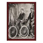 Vintage Gentlemen's bicycles Postcards