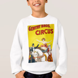 Vintage Gentry Brothers Circus Poster Sweatshirt