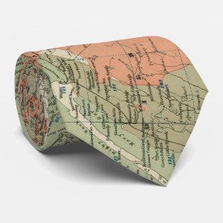 Vintage Geological Map of Nova Scotia (1906) Neck Tie