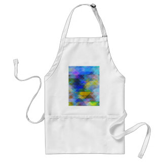 Vintage Geometric Abstract Adult Apron