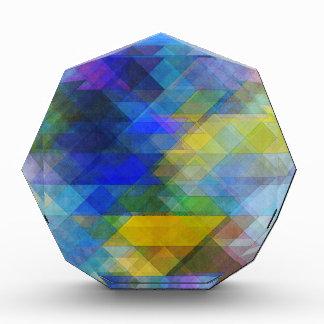 Vintage Geometric Abstract Award