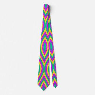Vintage Geometric Neck Tie