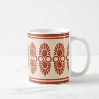 Vintage Geometric Pattern Graphic Bold Design Coffee Mug