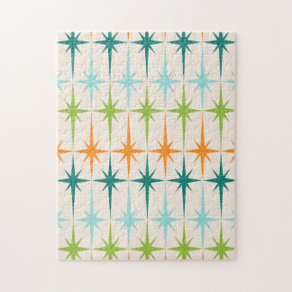 Vintage Geometric Starbursts Puzzle