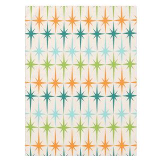 Vintage Geometric Starbursts Tablecloth