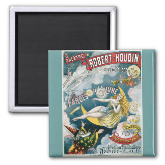 Vintage George Melies Illusion Fantastique Refrigerator Magnets