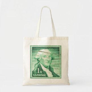 Vintage George Washington Budget Tote Bag