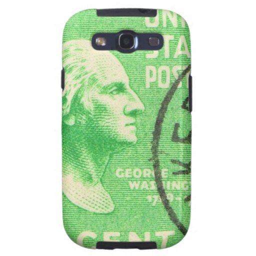 Vintage George Washington Samsung Galaxy SIII Funda