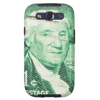 Vintage George Washington Galaxy S3 Fundas