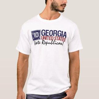 Vintage Georgia del republicano del voto en 2010 - Playera