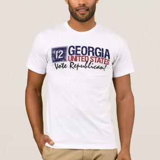 Vintage Georgia del republicano del voto en 2012 - Playera