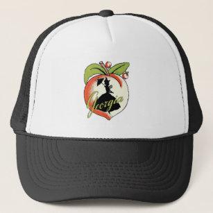 Georgia Peach Baseball & Trucker Hats | Zazzle