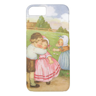 Vintage Georgie Porgie Mother Goose Nursery Rhyme iPhone 7 Case
