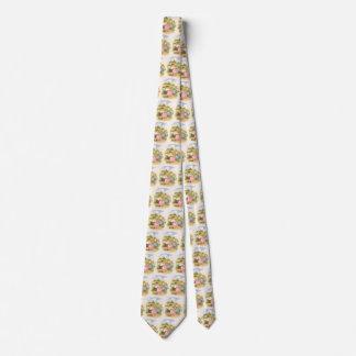 Vintage Georgie Porgie Mother Goose Nursery Rhyme Neck Tie