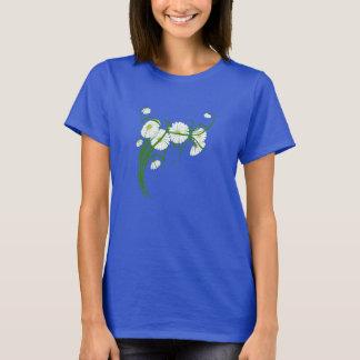 Vintage Gerber Daisy Flowers from a Spring Garden T-Shirt