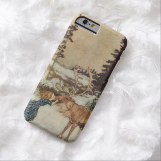 Vintage Gerda and the Reindeer by Edmund Dulac Barely There iPhone 6 Case