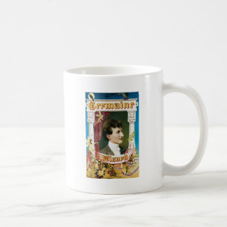 Vintage Germaine The Wizard Magic Poster Coffee Mug