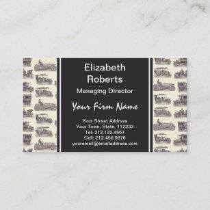 Car Club Business Cards Zazzle