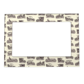 Vintage German Automobiles for Antique Car Club Magnetic Picture Frame