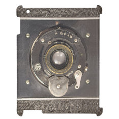 Vintage German Camera Ipad Case at Zazzle