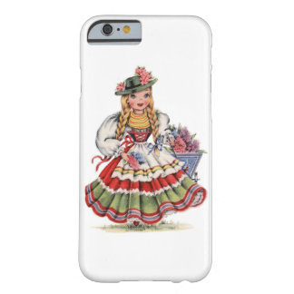 Vintage German Doll Barely There iPhone 6 Case