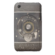 Vintage German Folding Camera  iPhone 3G Case-Mate iPhone 3 Case-Mate Cases at Zazzle