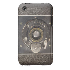 Vintage German Folding Camera  iPhone 3G Case-Mate iPhone 3 Case at Zazzle