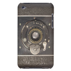 Vintage German Folding Camera Ipod Touch Case-mate at Zazzle