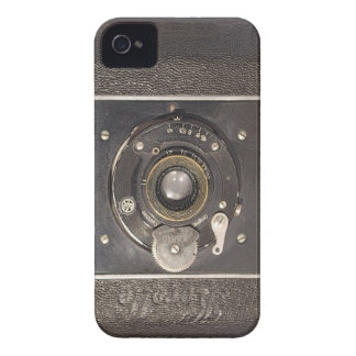Vintage German Folding Camera on iPhone 4 Tough Case-Mate iPhone 4 Cases