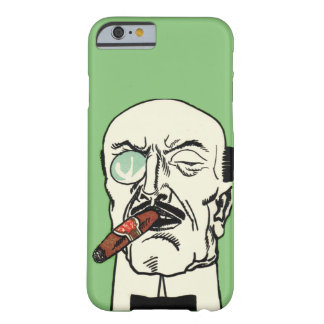 Vintage German Gentleman with Cigar and Monocle Barely There iPhone 6 Case