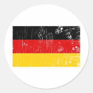 Vintage Germany Classic Round Sticker