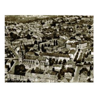 Vintage Germany, Gartenstadt Landau, Pfalz Postcard