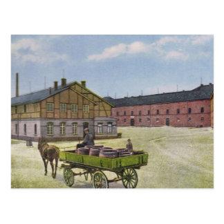 Vintage Germany, Germersheim, Kaserne Stengel Postcard