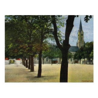 Vintage Germany, Germersheim Park and church Postcard
