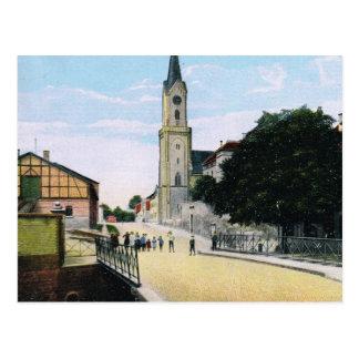 Vintage Germany, Germersheim Ringstrasse Postcard