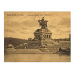 Vintage Germany,  Koblenz am Rhein Postcard