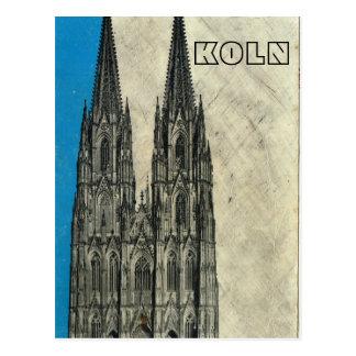 Vintage Germany,  Koln Cathedral Postcard