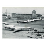 Vintage Germany, Munich airport 1950s Post Card