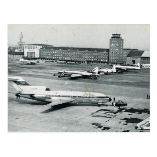 Vintage Germany, Munich airport 1950s Postcard
