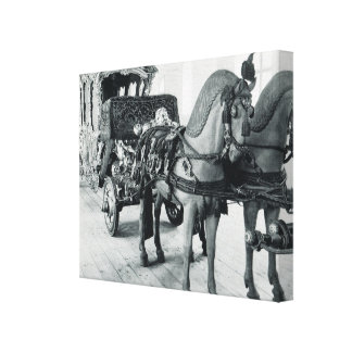 Vintage Germany, Munich,  Imperial State Carriage Canvas Print