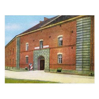 Vintage Germersheim, Germany, Kaserne Theobald Postcard