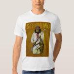 Vintage Geronimo - indio de Apache Playera