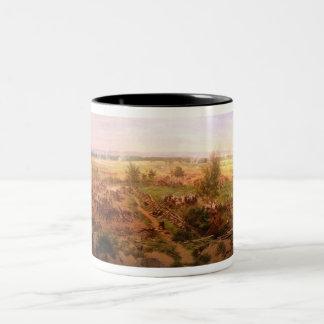 Vintage Gettysburg Cyclorama Paul Philippoteaux Two-Tone Coffee Mug