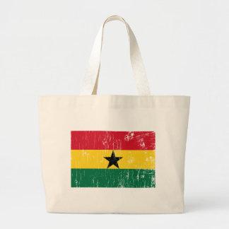 Vintage Ghana Large Tote Bag